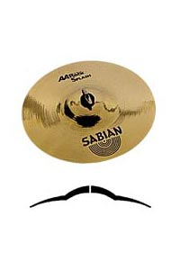 "Sabian 12"" Rock Splash AA"