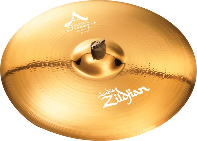 "ZILDJIAN 21"" A` CUSTOM 20TH ANNIVERSARY RIDE"