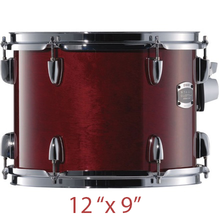 YAMAHA BTT 612U CR (Cranberry Red) подвесной том