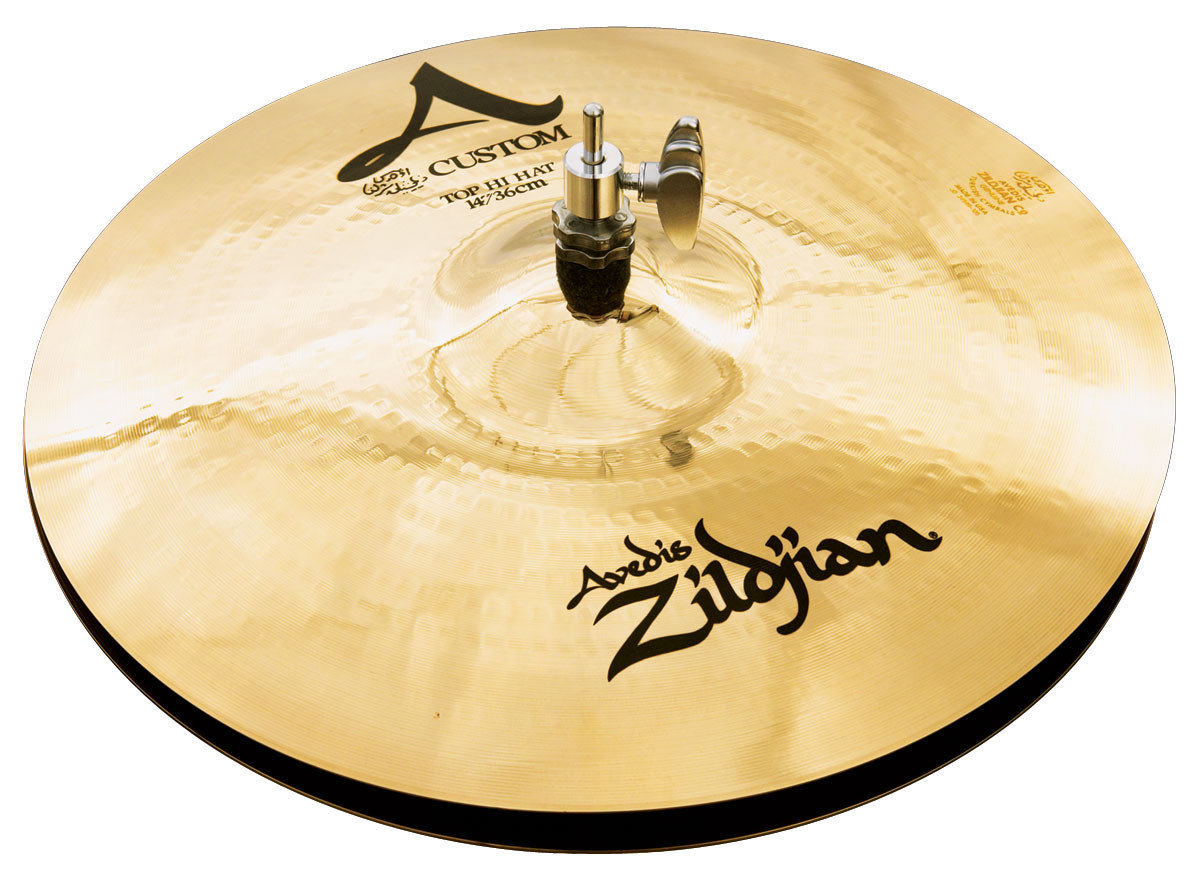 ZILDJIAN 13' A' CUSTOM MASTERSOUND HI-HAT
