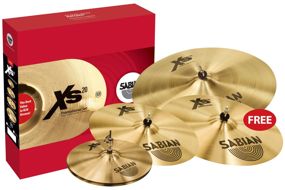 Sabian Promotional Set XS20