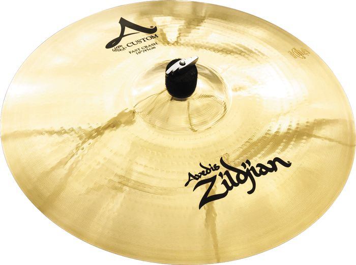 ZILDJIAN 18` A` CUSTOM FAST CRASH BRILLIANT