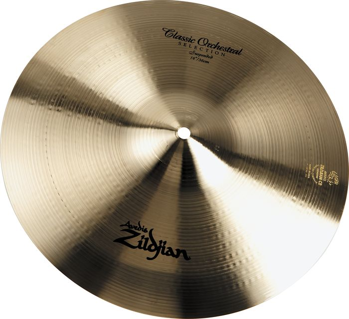 ZILDJIAN 18` A` CLASSIC ORCHESTRAL SELECTION - SUSPENDED